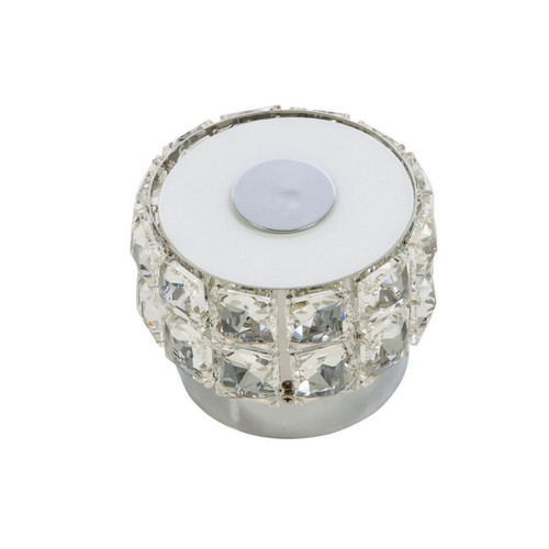 Lowell Crystal Close To Ceiling Light