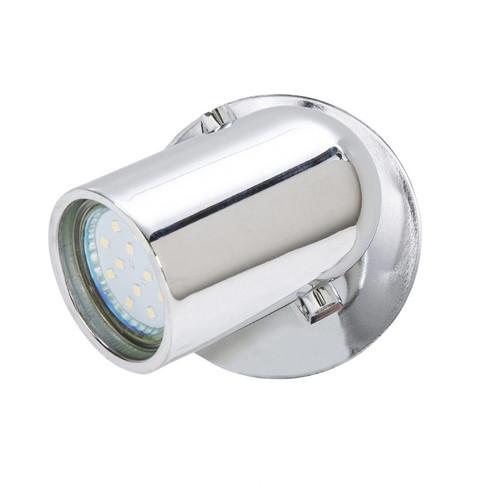 Seward Chrome 1 Light Adjustable LED Wall Light