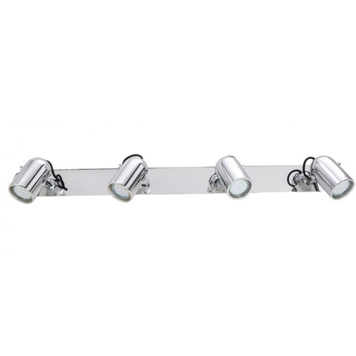 Seward Chrome 4 Light Adjustable LED Wall Light