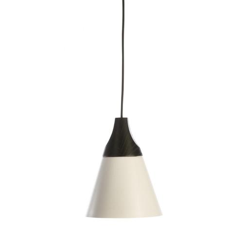Nutley Narrow Cone Black and White Pendant Light