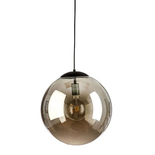 Round Mirror Glass Pendant Light