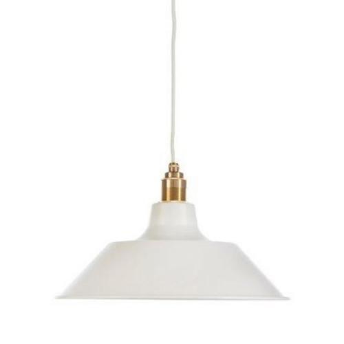 Owen Dome White Pendant Light