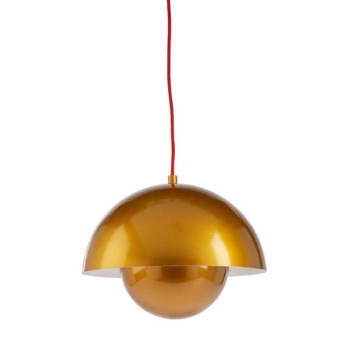 Penelope Gold Flowerpot Pendant Light