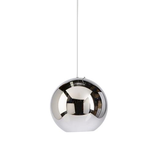 Peri Round Ball Chrome Pendant Light