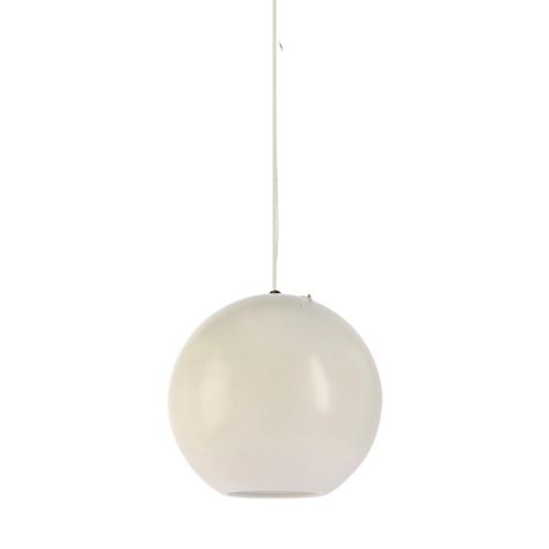 Peri Round Ball White Pendant Light