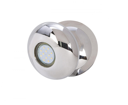 Gretna 1 Light Oval Chrome LED Wall Light