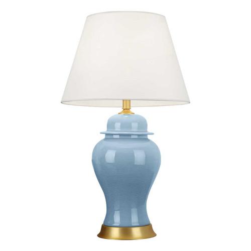 Isla Blue Ceramic Table Lamp