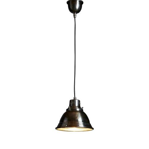 Robert Cone Antique Silver Metal Pendant Light