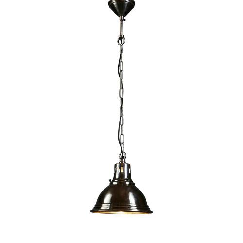 Sebastian Cone Antique Silver Chain Pendant Light