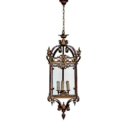 Remi Antique Bronze French Provincial Pendant Light
