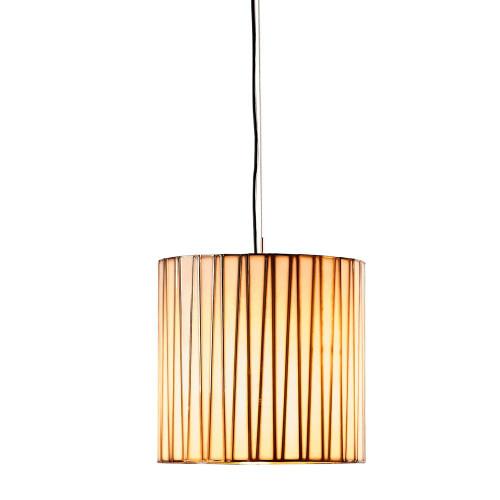 Cassandra Drum Brass Glass Lantern Pendant Light