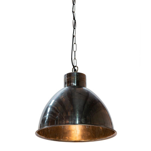 Morris Bell Silver Metal Pendant Light