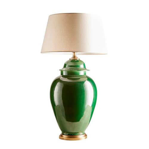 Golborne Emerald Green Urn Table Lamp