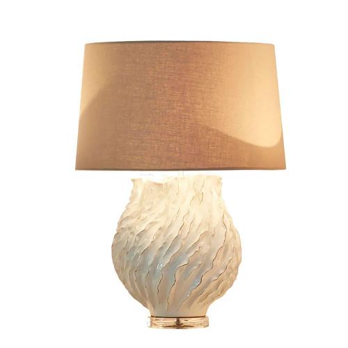 Swinton Cream Glazed Texture Ceramic Table Lamp