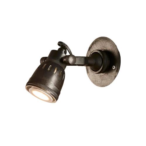 Seattle Long Arm Black Wall Lamp
