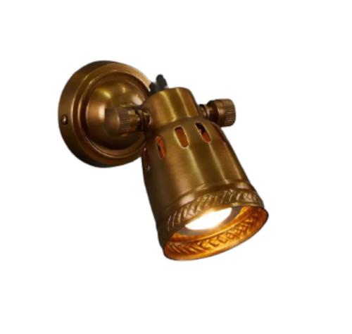 Broomfield Brass Focus Wall Lamp
