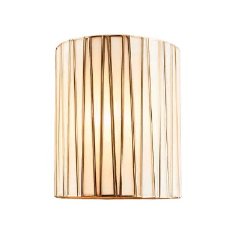 Diana Half Round Brass Wall Light