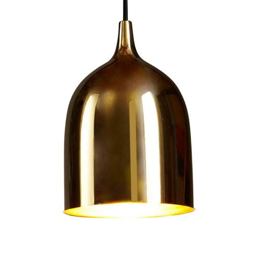 Lumi Brass Pendant Light