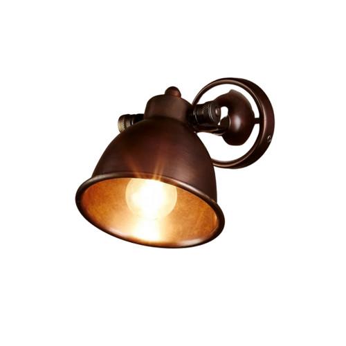 Onyx Dark Brass Wall Lamp