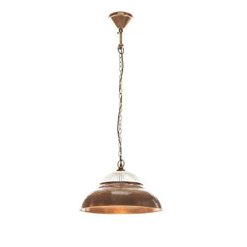 Atar Antique Brass Rustic Pendant Light