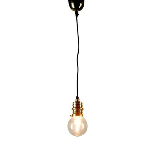 Pen Antique Brass Pendant Light