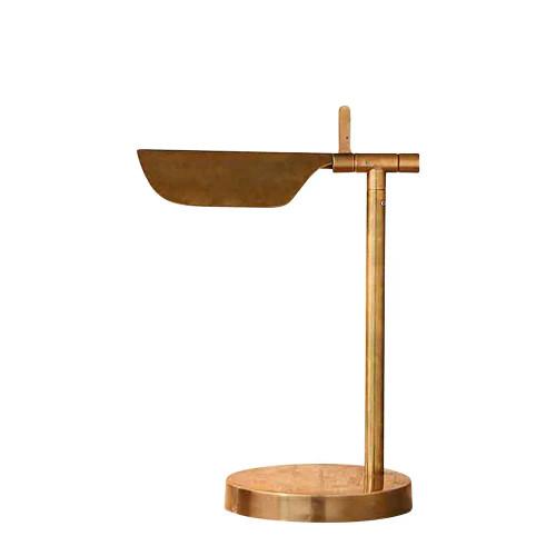 Antica Antique Brass Desk Lamp