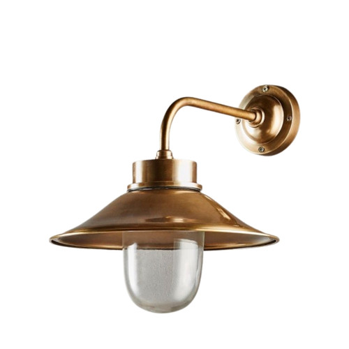 Sandhurst Antique Brass Wall Lamp