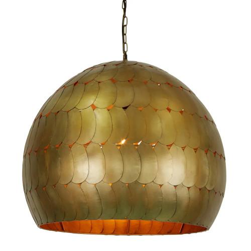 Pavani Antique Brass Vintage Pendant Light