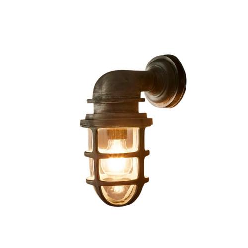 Porto Old Iron Wall Lantern