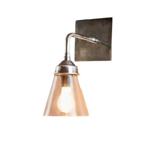 Greyson Silver Wall Light