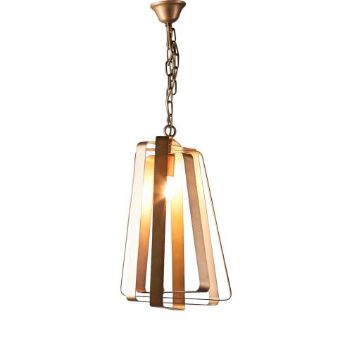 Marcelo Spinning Brass Pendant Light
