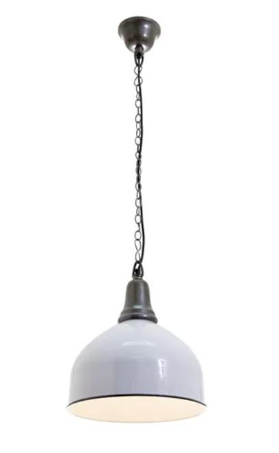 Benton Bell White Pendant Light