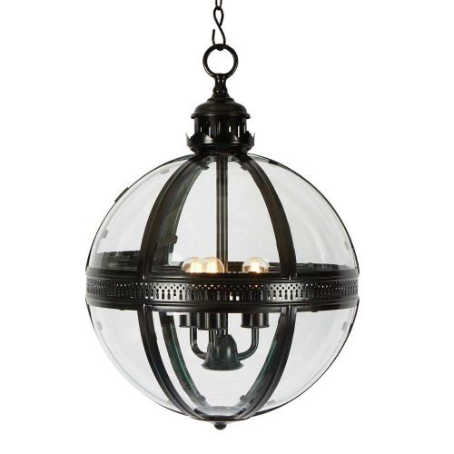 Saxon Black Pendant Lamp