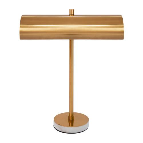 Hamlet Gold Linear Shade Industrial Desk Lamp