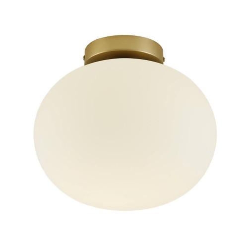 Alton Brass Opal Ceiling Light
