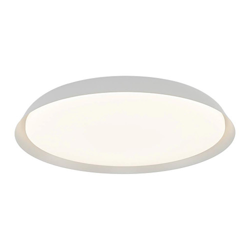 Piso Disc White Modern Close To Ceiling Light
