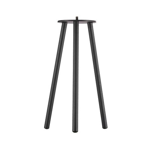 Kettle 31 Black Tripod Portable Lamp Base