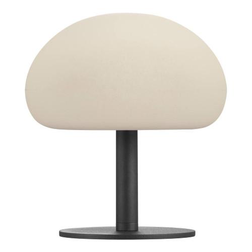 Sponge 20 Black Opal White Portable USB Charging Table Lamp
