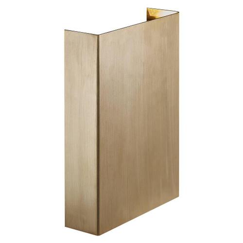 Fold 15 Brass Outdoor Wall Light