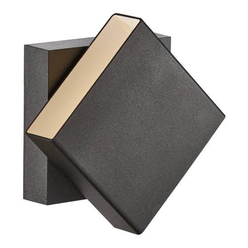 Turn Black 36 Degrees Rotatable LED Wall Light