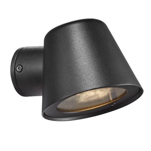 Aleria Black Outdoor Wall Light