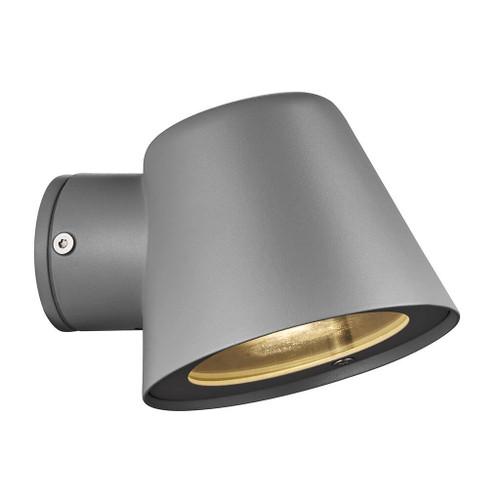 Aleria Grey Outdoor Wall Light