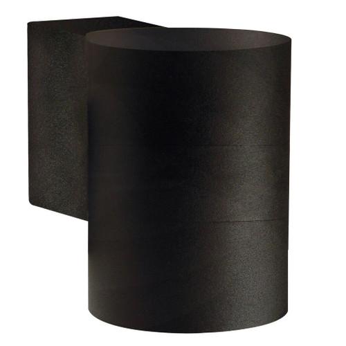 Tin Maxi Black Downward Outdoor Wall Light