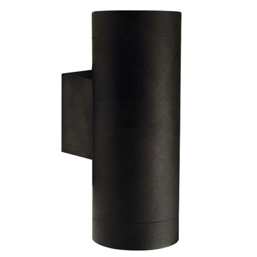 Tin Maxi Black Up and Down Outdoor Wall Light
