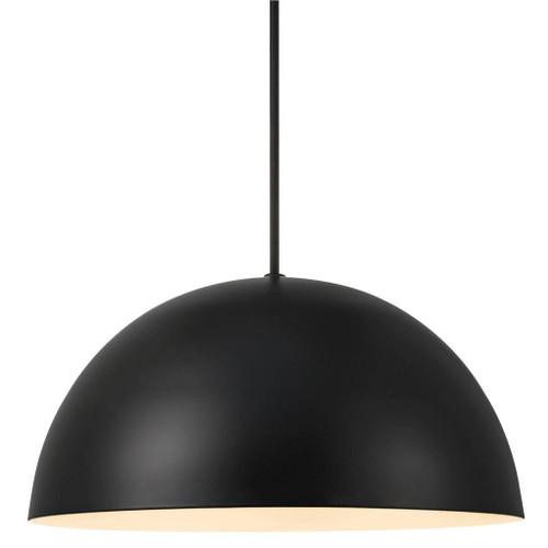 Ellen Black Dome Pendant Light