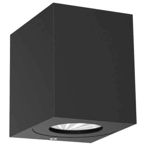 Canto Kubi Black Up and Down Square Wall Light