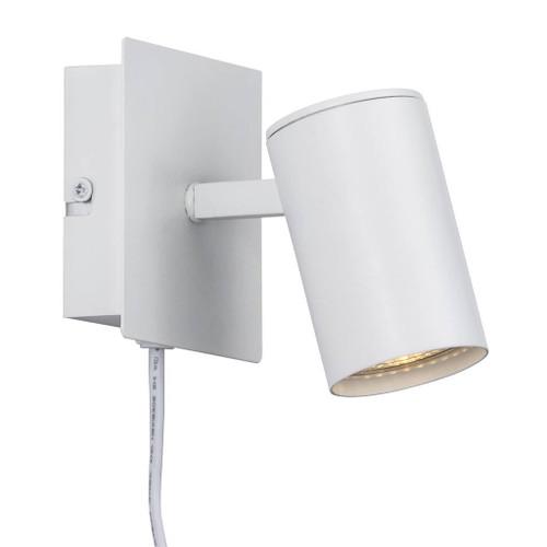 Frida Modern Matte White Adjustable Wall Lamp