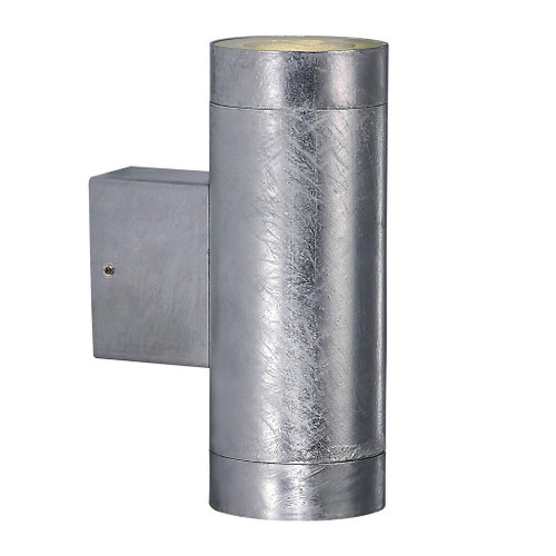 Castor Maxi Galvanized Steel Up and Down Wall Light
