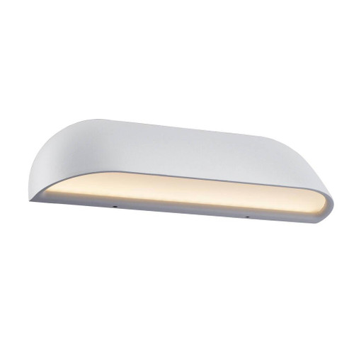 Front Classic White LED Wall Lamp