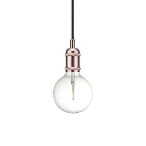 Avra Patinated Copper Suspension Lamp Holder